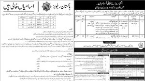 Jobs In Pakistan Railways, Forest Department And Interior Ministry Pakistan