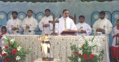 Holy Rosary Parish, Faisalabad celebrated the feast of St. Dominic