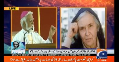 Video: Funeral Rites of Dr. Ruth Pfau at St. Patrick's Cathedral, Karachi