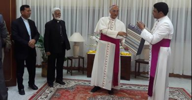 Farewell party for Apostolic Nuncio at Holy See Embassy Islamabad
