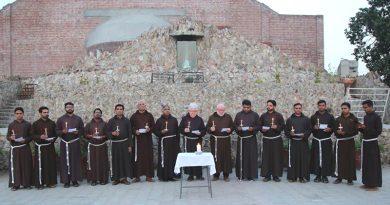 Capuchins' Pray for the victims of Sri Lanka Bomb Blasts