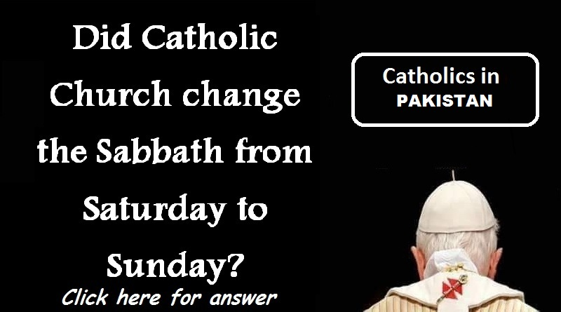 Did Catholic Church change the Sabbath from Saturday to Sunday? Find answer here