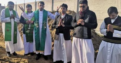 Foundation stone laid for New Clergy House in Gujranwala