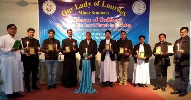 "Silver Jubilee celebration of ""Our Lady of Lourdes Minor Seminary, Rawalpindi"""