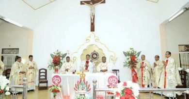 Sri Lanka: Sacerdotal Silver Jubilee of three Priests including one serving in Pakistan