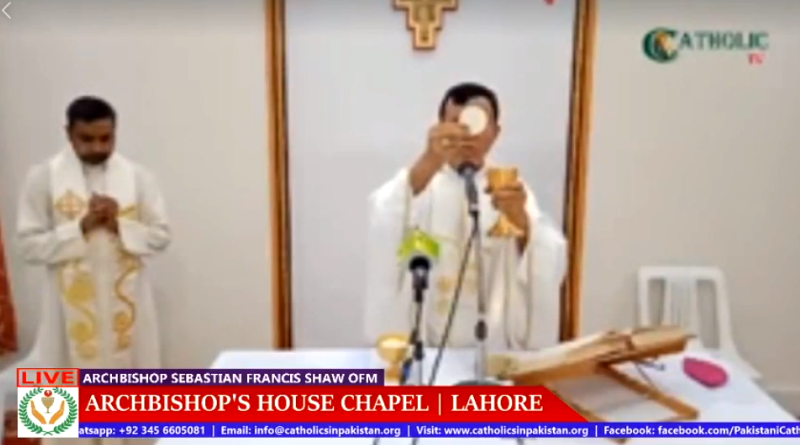 Importance of Joining Online Holy Mass | Catholics in Pakistan