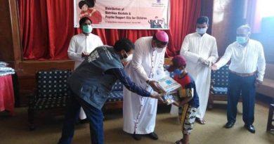 Nutrition baskets, psychological kits distributed in Rawalpindi