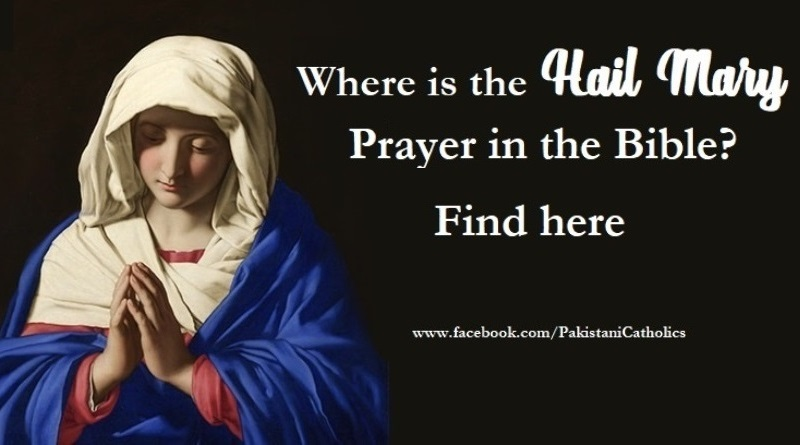 Where is the Hail Mary Prayer in the Bible? Find here