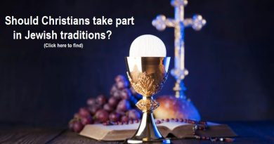 Should Christians take part in Jewish traditions?