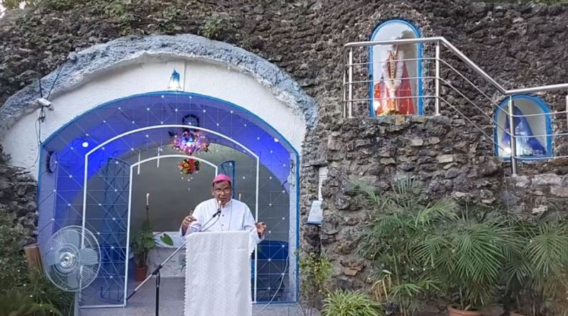 Special Recitation of Holy Rosary the Grotto of St. Joseph's Cathedral