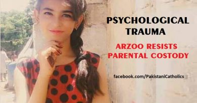 Psychological trauma Arzoo resists parental custody