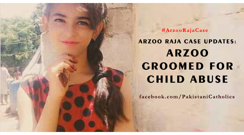 Arzoo Raja Case Updates Arzoo groomed for child abuse