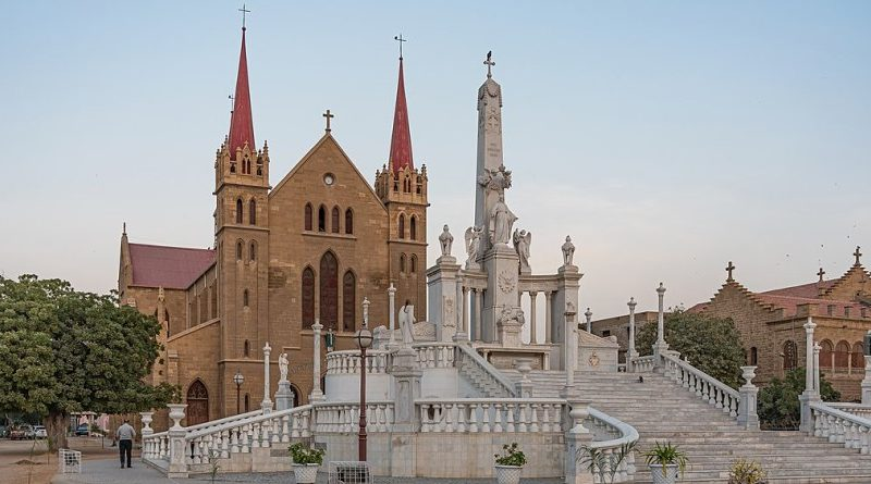 Saint Patrick's Cathedral in Karachi, Pakistan